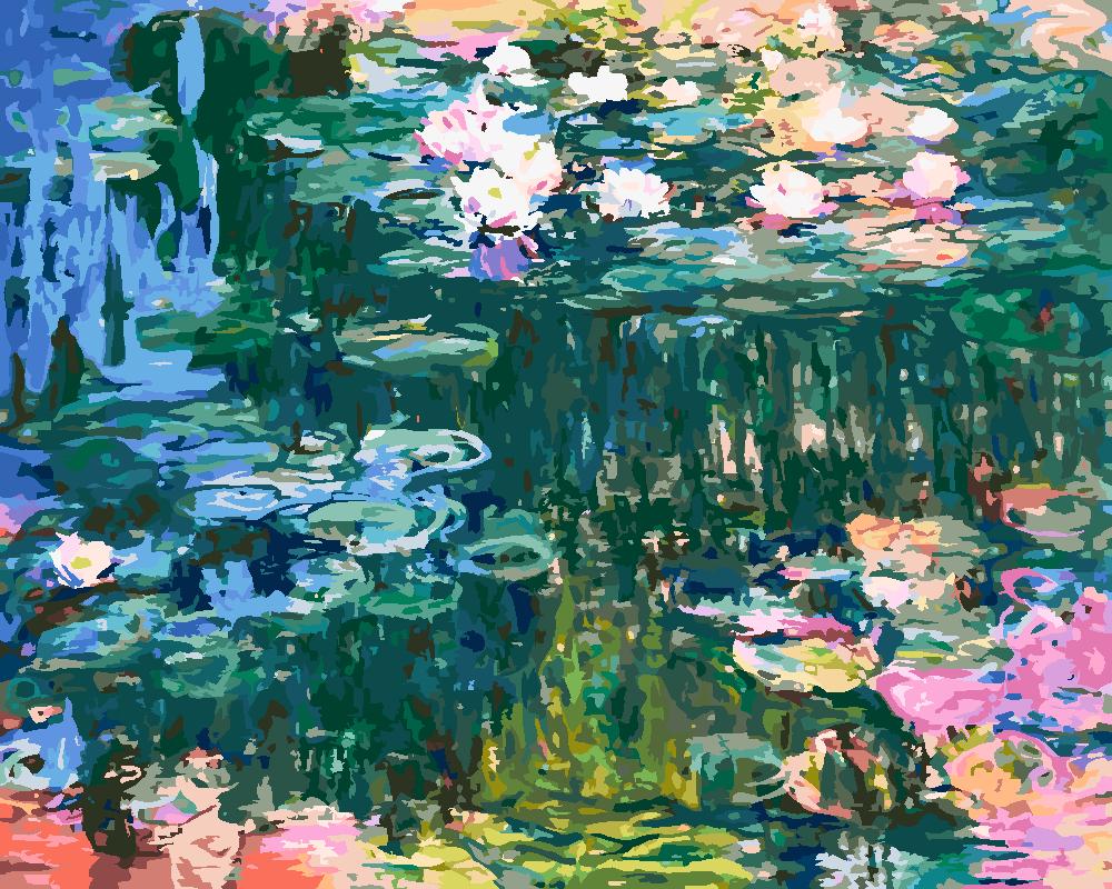 Картина по номерам «Клод Моне. Водяные лилии»